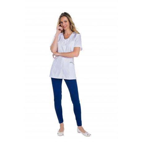 Blouse Médicale femme polycoton avec cinq poches -REMI-