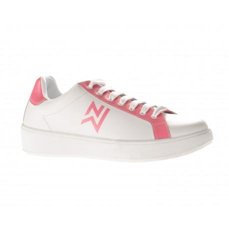 Basket de travail femme rose et blanche-NORDWAYS-
