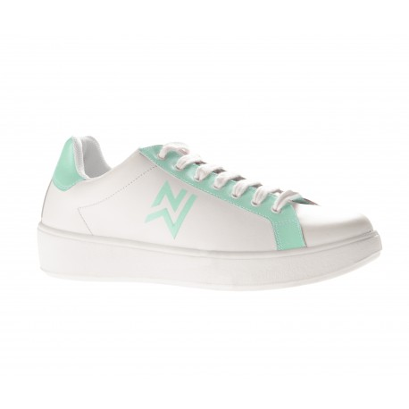 Basket de travail vert et blanche-NORDWAYS-