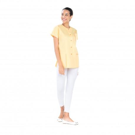 Tunique médicale femme jaune -REMI-