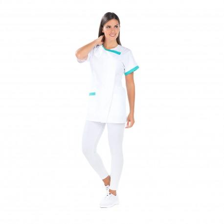 Blouse Médicale femme quatre poches polycoton -REMI-