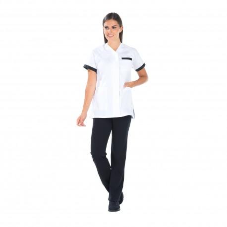 Blouse Pharmacie blanche quatres poches-REMI-