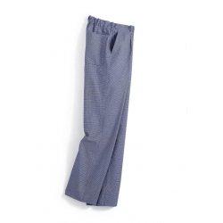 Pantalon de cuisine pied de poule 100 % coton -BP-