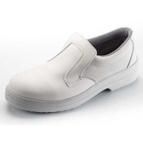 Chaussures de cuisine de qualité mixte blanche-NORWAYS-