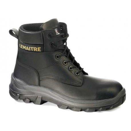 Chaussures de sécurité noir Haute imperméabilisé-LEMAITRE-