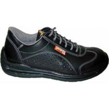 Chaussures de sécurité noir embout acier-LEMAITRE-