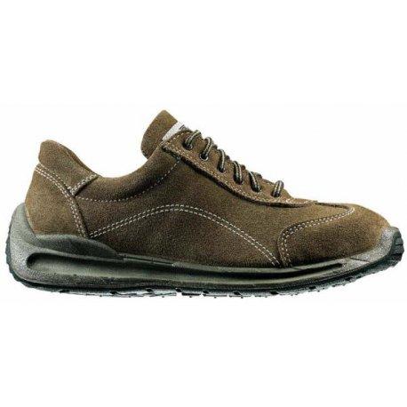 Chaussures de sécurité basse cuir velour hydrofuge-LEMAITRE-