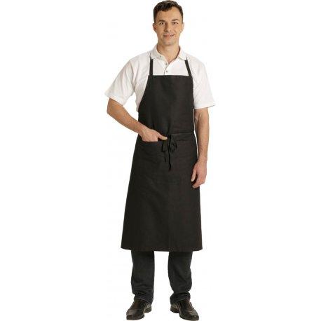 Tablier de Cuisine à Bavette Noir large 100 cm -Talbot-