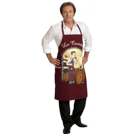 Tablier de cuisine fantaisie le caviste - Tablier cuisine fantaisie ...