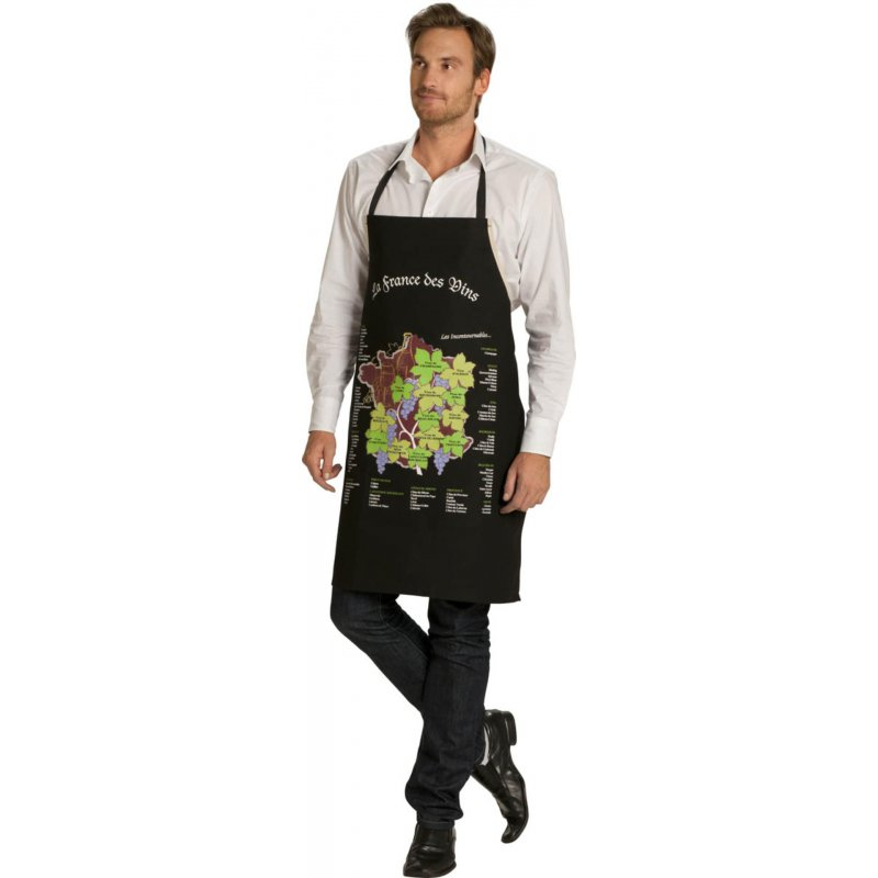 Tablier de cuisine fantaisie vigneron - Tablier cuisine fantaisie ...