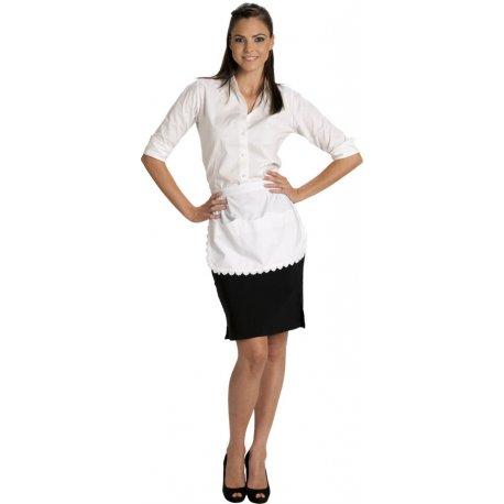 Tablier de service pour femme de chambre broderie anglaise-TALBOT-
