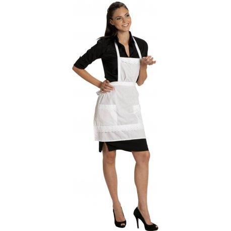 Tablier de service pour femmes de chambres broderie anglaise-TALBOT-