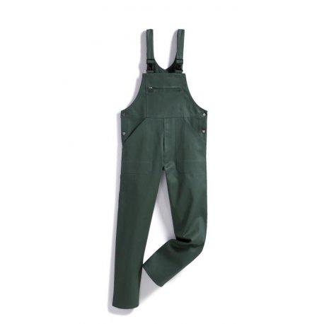 Salopette de travail vert 100% coton-BP-