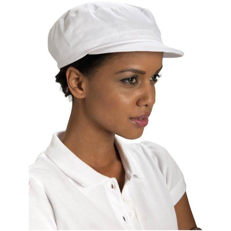 Casquette polycoton blanc talbot acheter en ligne for Vetement de cuisine professionnel