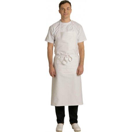 Tablier de cuisinier 95 cm 100% coton -TALBOT-