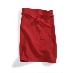 Tablier de Cuisine Rouge 45 cm polycoton -BP-