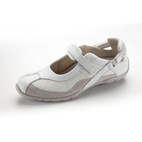 chaussures médicales pour femme NORD WAYS blanche