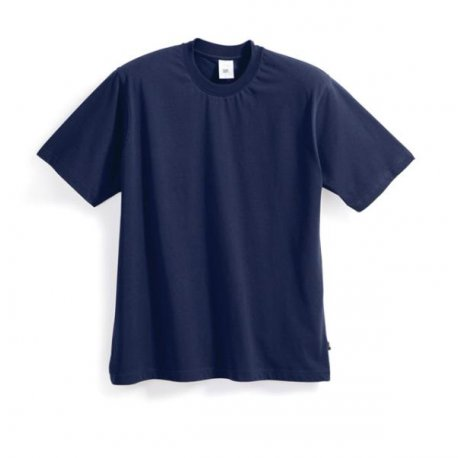T-shirt 100% coton bleu foncé-BP-