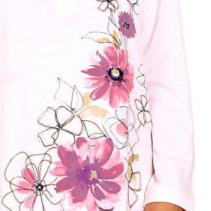 Détail d'une robe de chambre vendue sur le Roi du tablier, la boutique spécialisée dans le vêtement professionnel.