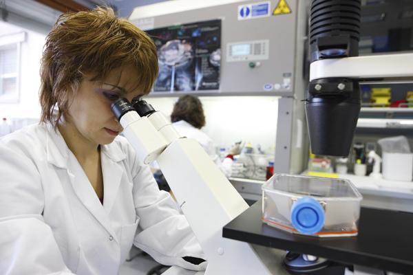 Technicienne de laboratoire